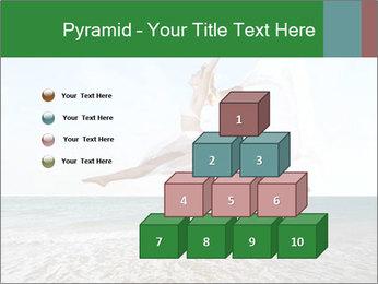 Woman jumping PowerPoint Templates - Slide 31