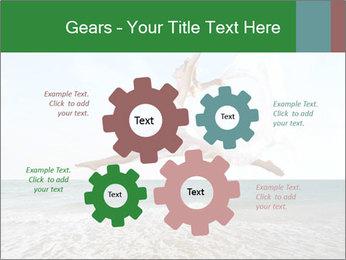Woman jumping PowerPoint Templates - Slide 47