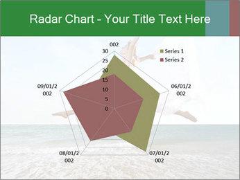 Woman jumping PowerPoint Templates - Slide 51