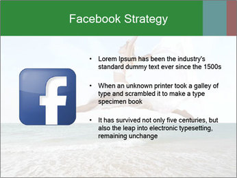 Woman jumping PowerPoint Templates - Slide 6