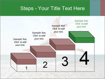 Woman jumping PowerPoint Templates - Slide 64