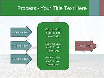 Woman jumping PowerPoint Templates - Slide 85