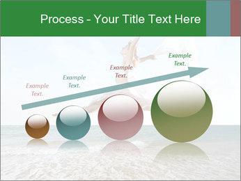 Woman jumping PowerPoint Templates - Slide 87