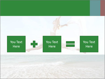 Woman jumping PowerPoint Templates - Slide 95