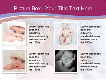A newborn baby PowerPoint Template - Slide 14