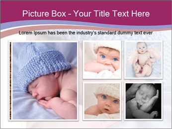 A newborn baby PowerPoint Template - Slide 19