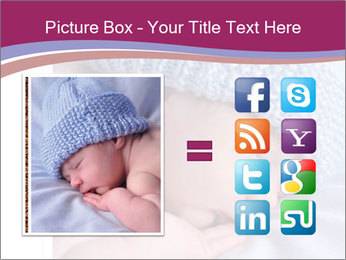 A newborn baby PowerPoint Template - Slide 21