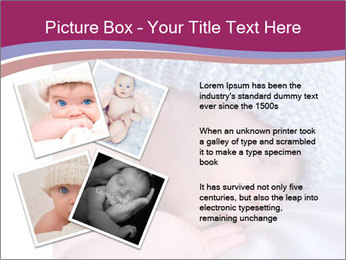 A newborn baby PowerPoint Template - Slide 23