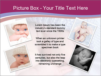 A newborn baby PowerPoint Template - Slide 24