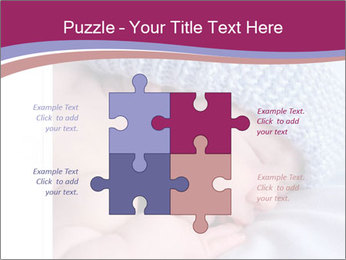 A newborn baby PowerPoint Template - Slide 43