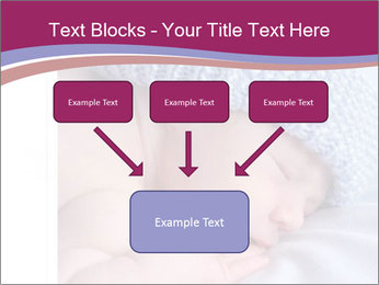 A newborn baby PowerPoint Template - Slide 70