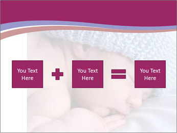 A newborn baby PowerPoint Template - Slide 95