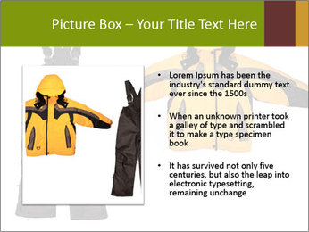 Children's sport clothes PowerPoint Template - Slide 13