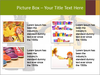 Children's sport clothes PowerPoint Template - Slide 14