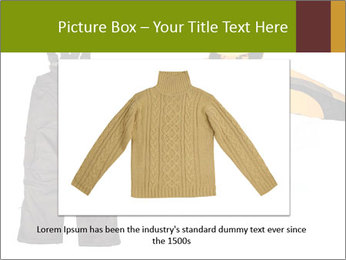 Children's sport clothes PowerPoint Template - Slide 15