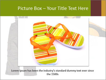 Children's sport clothes PowerPoint Template - Slide 16