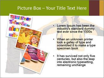Children's sport clothes PowerPoint Template - Slide 17