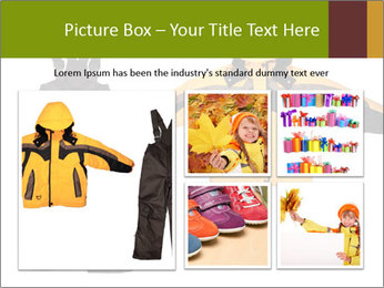 Children's sport clothes PowerPoint Template - Slide 19