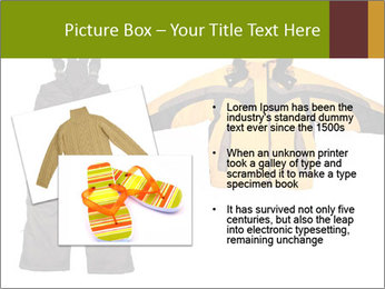 Children's sport clothes PowerPoint Template - Slide 20