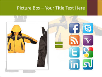 Children's sport clothes PowerPoint Template - Slide 21