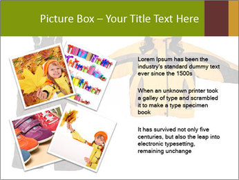 Children's sport clothes PowerPoint Template - Slide 23