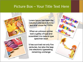 Children's sport clothes PowerPoint Template - Slide 24