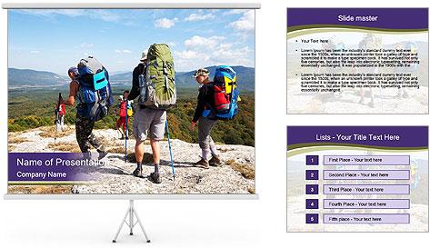 Backpacker PowerPoint Template