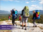 Backpacker PowerPoint Templates