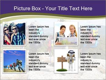 Backpacker PowerPoint Templates - Slide 14