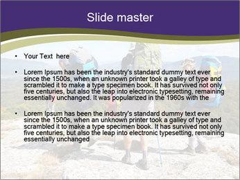 Backpacker PowerPoint Templates - Slide 2