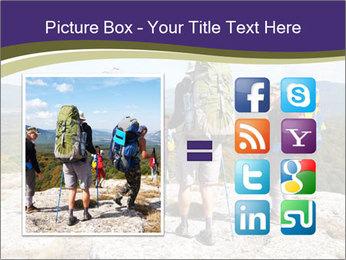 Backpacker PowerPoint Templates - Slide 21