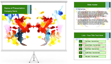 Painting PowerPoint Template