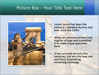 The Chain Bridge PowerPoint Template - Slide 13