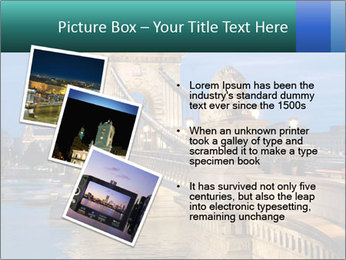 The Chain Bridge PowerPoint Template - Slide 17