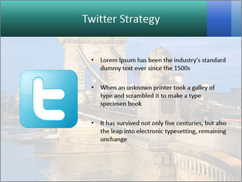 The Chain Bridge PowerPoint Template - Slide 9