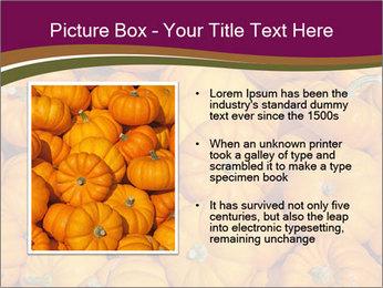 Colorful pumpkins PowerPoint Templates - Slide 13