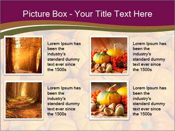 Colorful pumpkins PowerPoint Templates - Slide 14