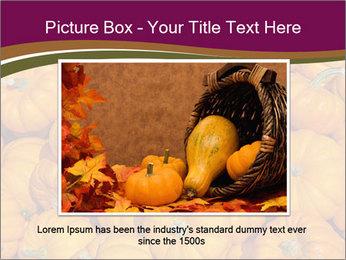 Colorful pumpkins PowerPoint Templates - Slide 15