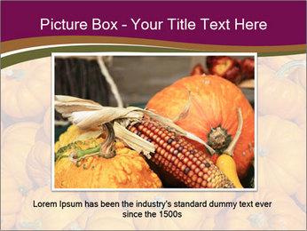 Colorful pumpkins PowerPoint Templates - Slide 16