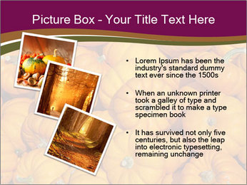 Colorful pumpkins PowerPoint Templates - Slide 17