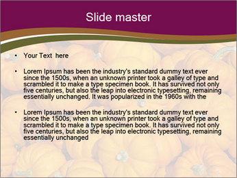 Colorful pumpkins PowerPoint Templates - Slide 2