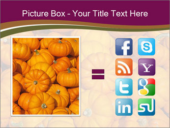 Colorful pumpkins PowerPoint Templates - Slide 21