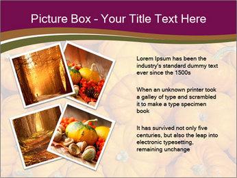 Colorful pumpkins PowerPoint Templates - Slide 23