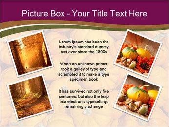 Colorful pumpkins PowerPoint Templates - Slide 24