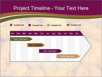 Colorful pumpkins PowerPoint Templates - Slide 25