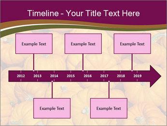 Colorful pumpkins PowerPoint Templates - Slide 28