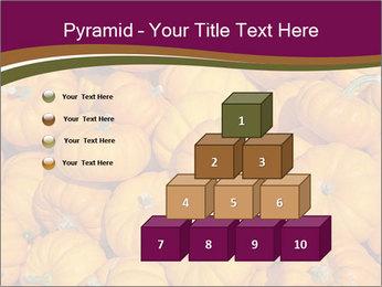 Colorful pumpkins PowerPoint Templates - Slide 31
