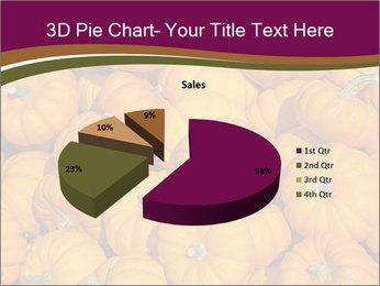 Colorful pumpkins PowerPoint Templates - Slide 35