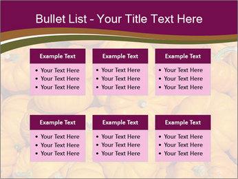 Colorful pumpkins PowerPoint Templates - Slide 56