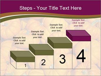 Colorful pumpkins PowerPoint Templates - Slide 64